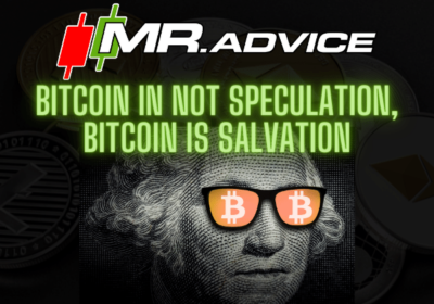 Bitcoin in not Speculation, Bitcoin is Salvation