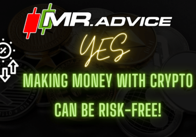 Yes, making money with crypto CAN be risk-free!