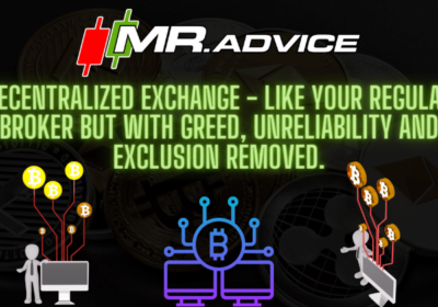 Decentralized Exchange – like your regular broker but with greed, unreliability and exclusion removed.