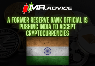 A former Reserve Bank official is pushing India to accept cryptocurrencies