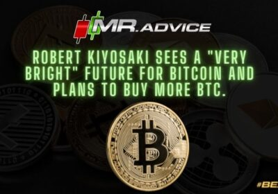 """Robert Kiyosaki sees a """"very bright"""" future for Bitcoin and plans to buy more BTC."""